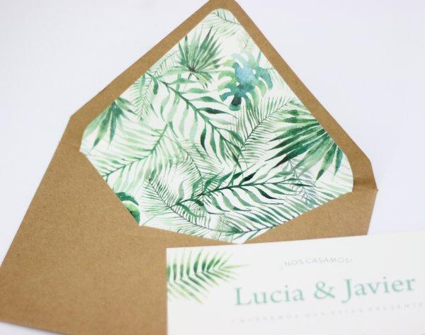 LA LUNA EN PUNTAS DE PIE - INVITACIONES - Diseño Tropical x100