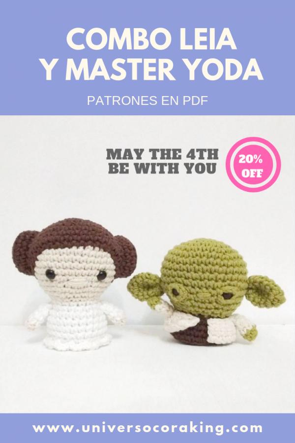 Universo Cora King - Combos - Combo Star Wars x 2 PDF - Leia y Master Yoda