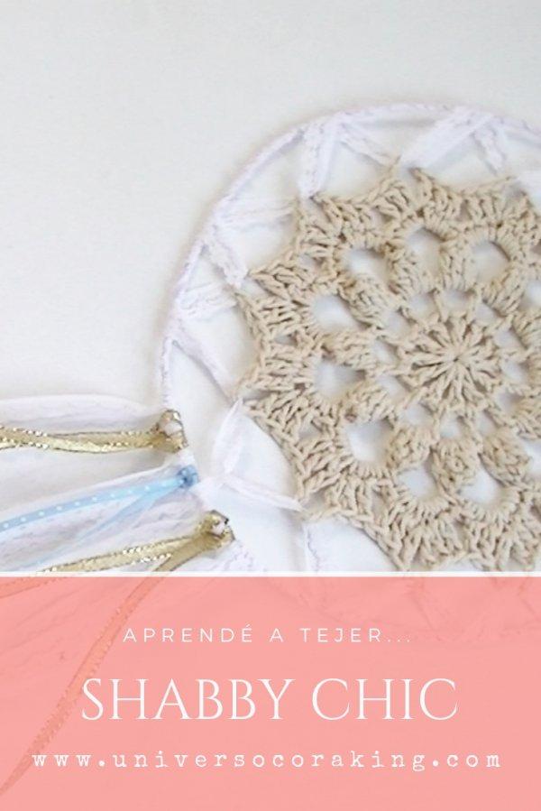 Curso online de Crochet Inicial Shabby Chic - Universo Cora King