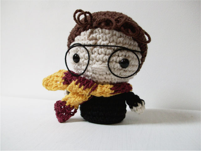 Mini Harry Potter - Patrón en PDF - Universo Cora King