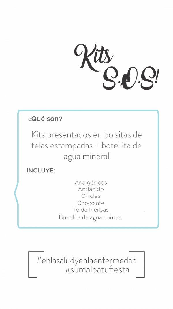 LA LUNA EN PUNTAS DE PIE - TIENDA PARA FESTEJAR - Kit S.O.S